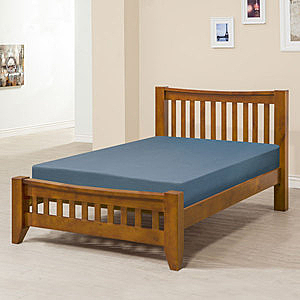 Homelike 里恩床架組-單人3.5尺(不含床墊)