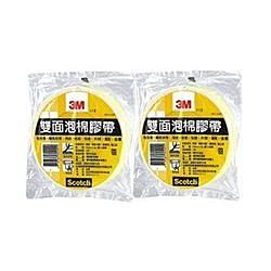 《享亮商城》113 12mm*5M 雙面泡棉膠帶(單捲)  3M