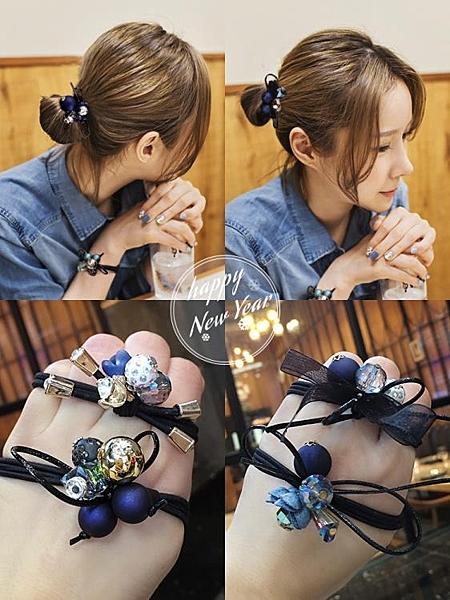 ins韓國髪圈扎頭繩橡皮筋髪繩扎頭髪頭飾