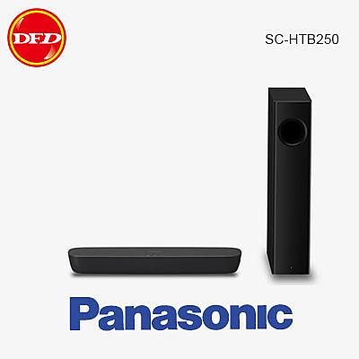 國際 PANASONIC SC-HTB250 Sound Bar 聲霸 2.1聲道 搭載無線重低音 公司貨 原廠保固 HTB250