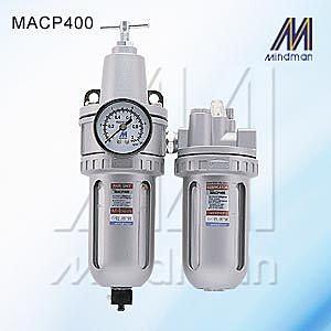 *雲端五金便利店* 三點組合 MACP 400 10A 15A 調壓閥 濾水器 潤滑器 給油器 Mindman 金器