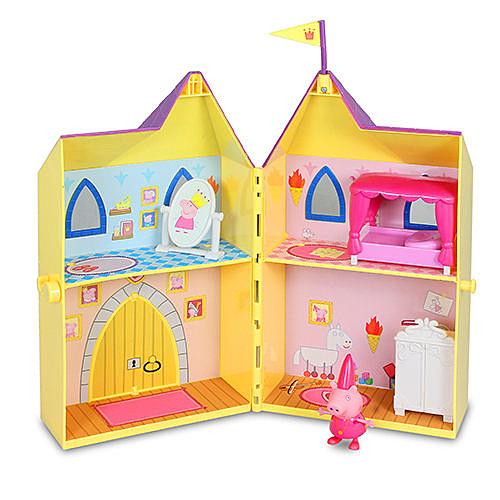 【英國Peppa Pig佩佩豬】粉紅豬小妹皇家系列-皇家塔房 PE05872