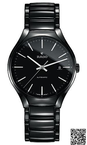 雷達錶 RADO 真我機械腕錶 R27056152原廠公司貨/40mm/黑陶