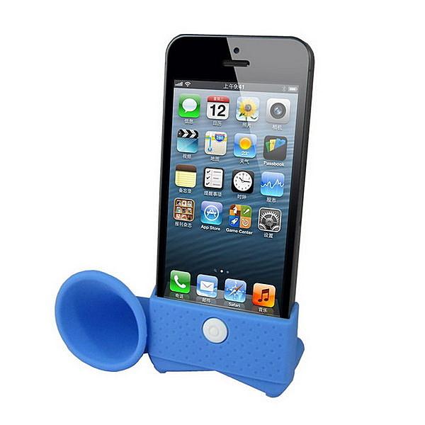 iphone5留聲機造型 擴音喇叭(一組2入)