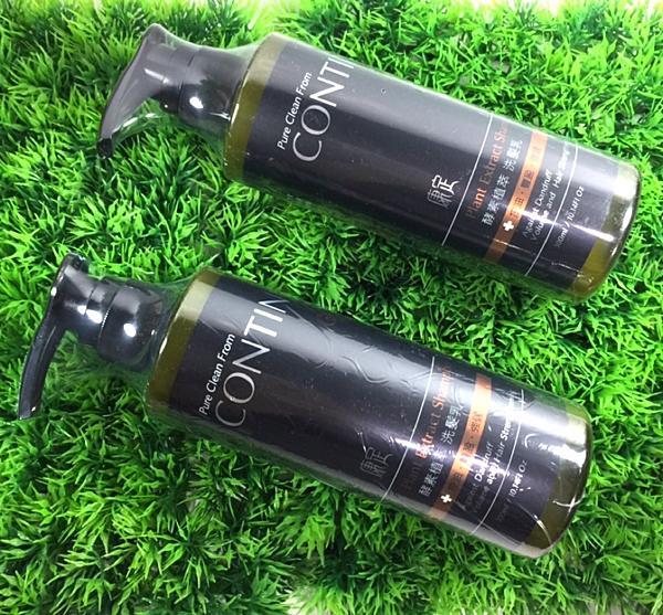【JC Beauty】   CONTIN 康定 酵素植萃洗髮精(洗髮乳) (300ml/瓶) 單瓶