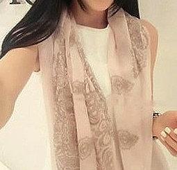 韓版棉麻絲巾兩用披肩-FS2222