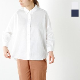 mizuiro-ind ミズイロインド コットンタック コクーンシャツ 2-236134 レディース
