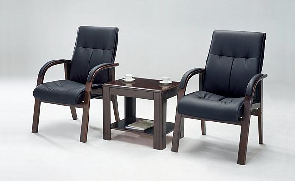 【 IS空間美學】6091洽談皮椅
