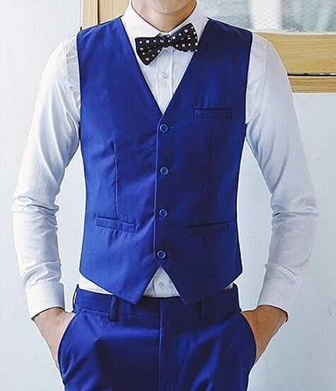 FINDSENSE品牌 韓國男 三件式西裝外套 成套西裝 修身西裝 西裝外套 馬