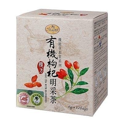 曼寧~有機枸杞明采茶6公克x12入/盒