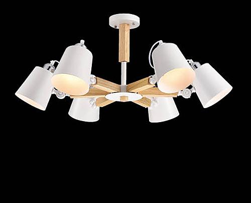 燈飾燈具【燈王的店】風格系列 木製品 半吸頂 6 燈 ☆ F0363300423