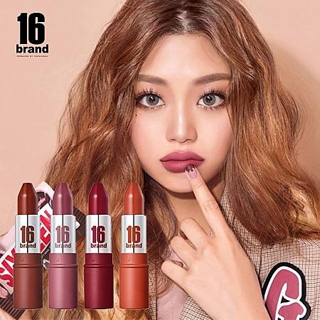 韓國 16 brand 巧克力子彈唇膏 3.4g 巧克力棒唇膏 唇彩 唇膏 口紅 唇膏 巧克力唇膏 子彈唇膏 16brand