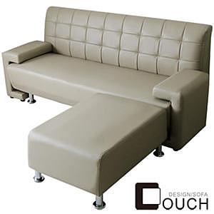 【COUCH】日式簡約L型沙發組(四色可選)紅色