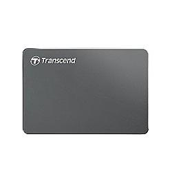 【綠蔭-免運】創見 StoreJet 2TB 25C3 USB3.0 2.5吋行動硬碟-鐵灰色