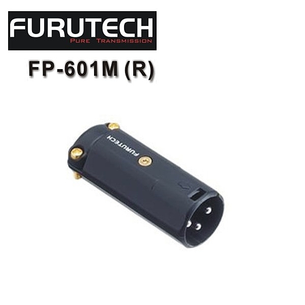 【新竹勝豐群音響】Furutech 古河 FP-601M (R) Hi-End級 XLR連結頭
