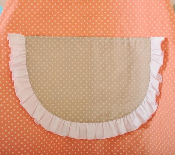 [超豐國際]棉圍裙套裝有套袖 無袖防油廚房服務員圍裙 工作服
