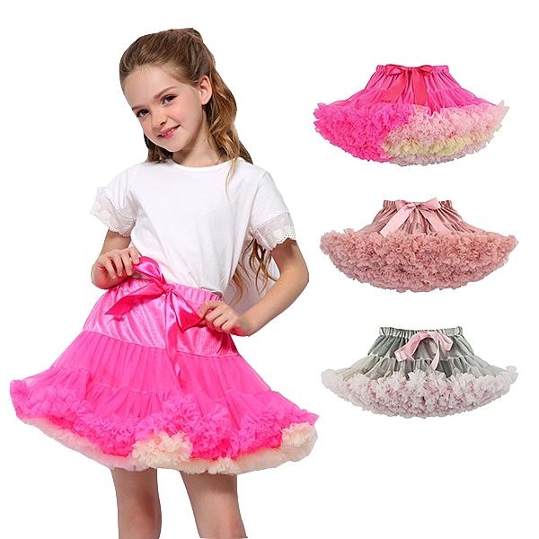 兒童半身蓬蓬裙造型表演服裝 兒童攝影服飾 表演服