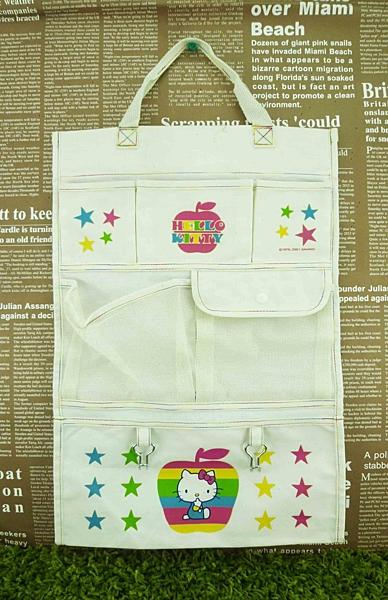 【震撼精品百貨】Hello Kitty 凱蒂貓~壁掛袋-彩色蘋果【共1款】