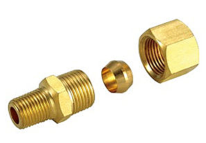 銅接頭 銅管接頭 3/8 PT*12m/m銅管