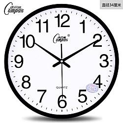 限定款挂钟康巴絲客廳掛鐘靜音辦公時尚簡約時鐘壁掛表臥室創意現代石英鐘表