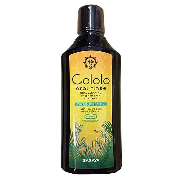 日本 SARAYA Cololo Oral Rinse 蜂膠酵素漱口水600ml/瓶◆德瑞健康家◆