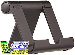 [106美國直購] AmazonBasics Multi-Angle Portable Stand for Tablets, E-readers and Phones - Black