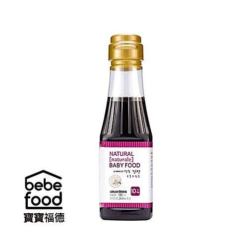 韓國 BEBEFOOD寶寶福德 寶寶專用醬油180ml(煮湯調味用)[衛立兒生活館]
