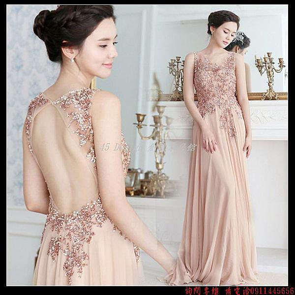 (45 Design) 訂做款式7天到貨   專業訂製款 中大尺碼高檔定制 來圖訂製 婚紗禮服 表演 走秀 主持