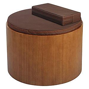 【源之氣】竹炭靜坐墊60cm(大圓形+小四方加高)+專用實木座(坎入止滑)