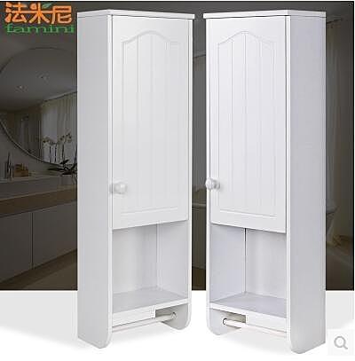 白色歐式浴室壁櫃小掛櫃衛生間吊櫃防水牆櫃牆上收納儲物置物櫃子(單個價)