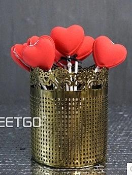 【協貿國際】歐式家居裝飾器皿糖罐婚慶道具復古罐子