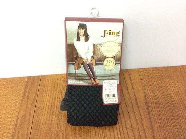 【京之物語】Fukuske細格紋女性褲襪(卡其色/灰色)M-L