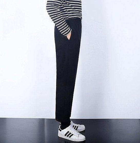 【JP.美日韓】韓國  簡約 寬褲 闊腿褲 小腿褲 瘦腿褲 寬腿褲 直筒寬褲 休