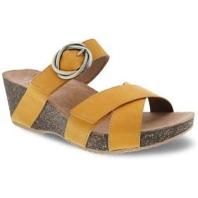 [ダンスコ] レディース サンダル Susie Leather Slide Sandals [並行輸入品]