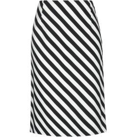 《セール開催中》DRIES VAN NOTEN レディース ひざ丈スカート ブラック 38 レーヨン 96% / ポリウレタン 4%
