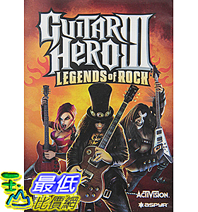[106美國直購] 2017美國暢銷軟體 Guitar Hero III: Legends Of Rock