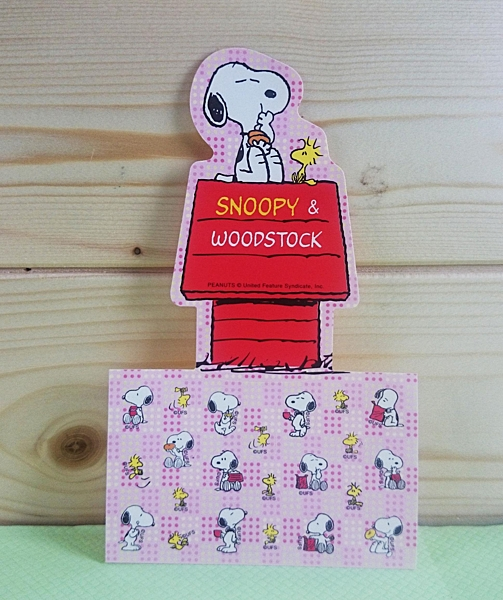 【震撼精品百貨】史奴比Peanuts Snoopy ~貼紙_屋頂造型
