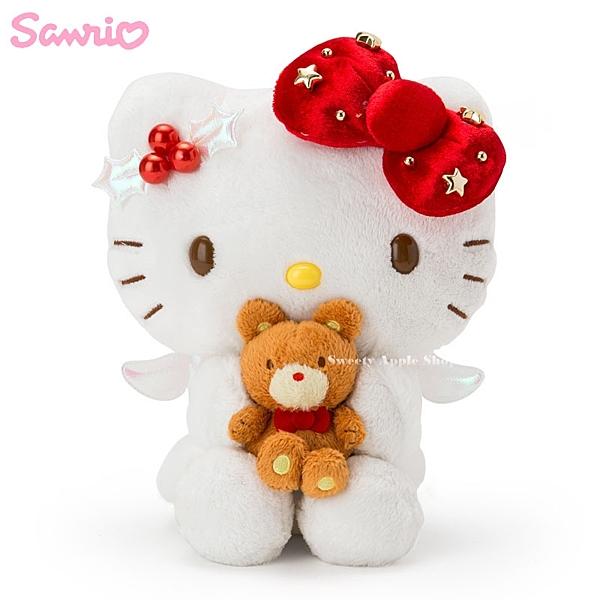 日本限定 HELLO KITTY 凱蒂貓 Angel Christmas 天使聖誕 玩偶娃娃