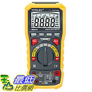 [106玉山最低比價網] 華誼 MS8236 有效值數位萬用表 自動量程全保護萬用表