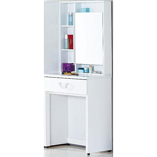 化妝台 SB-563-6 凱渥2尺白色化粧台(不含椅)(不含立鏡櫃)【大眾家居舘】