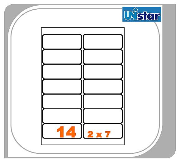 【量販10盒】裕德 電腦標籤 14格 US4678 三用標籤 列印標籤 量販型號可任選