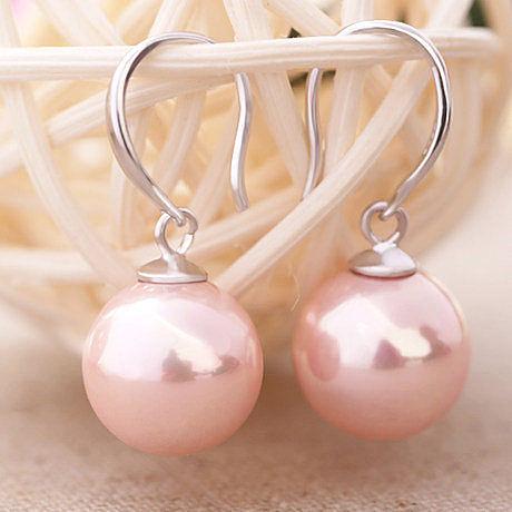 銀耳環珍珠