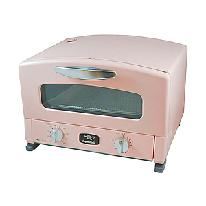日本 Sengoku Aladdin 千石阿拉丁 專利0.2秒瞬熱 多用途烤箱 AET-G13T 粉