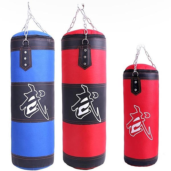 拳擊沙袋沙包吊式實心散打泰拳訓練體育用品家用健身器材WY【快速出貨】