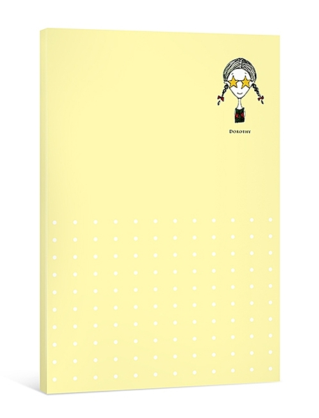 Dorothy簡便萬用月記事本-黃