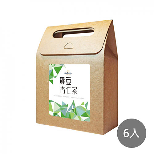 【花草巫婆】綠豆杏仁茶6入