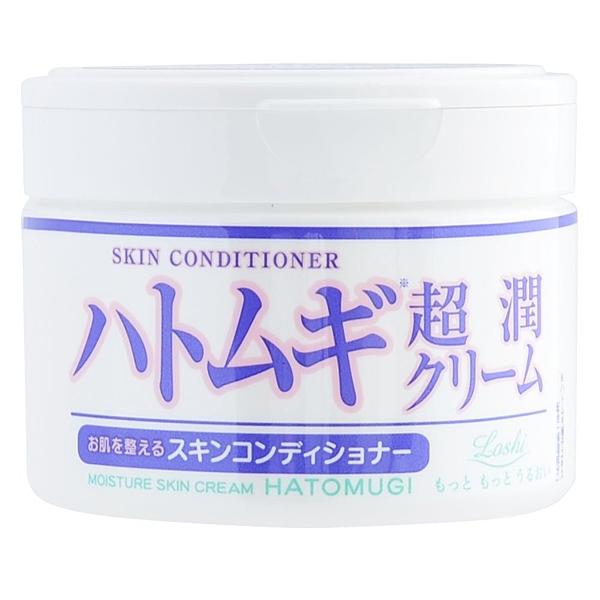 日本 loshi 保濕 超潤 薏仁 潤膚乳霜 4936201100866