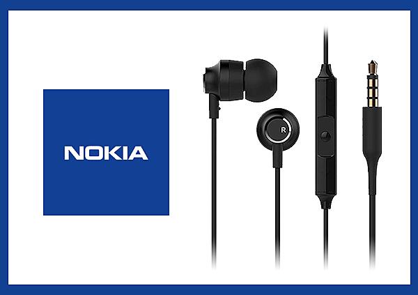 NOKIA 原廠 立體聲入耳式耳機 WH-201 (盒裝)