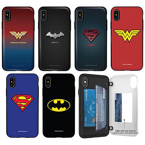 蝙蝠俠 神力女超人 超人 防摔側開卡夾 手機殼│S7 Edge S8 S9 S10 S10E S20 Ultra Note8 Note9 Note10│z8887