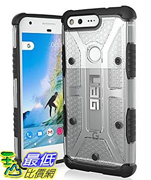 [106美國直購] URBAN ARMOR GEAR 透明/透灰 Google Pixel (5.0吋) UAG 兩色可選軍規手機殼保護殼 Phone Case